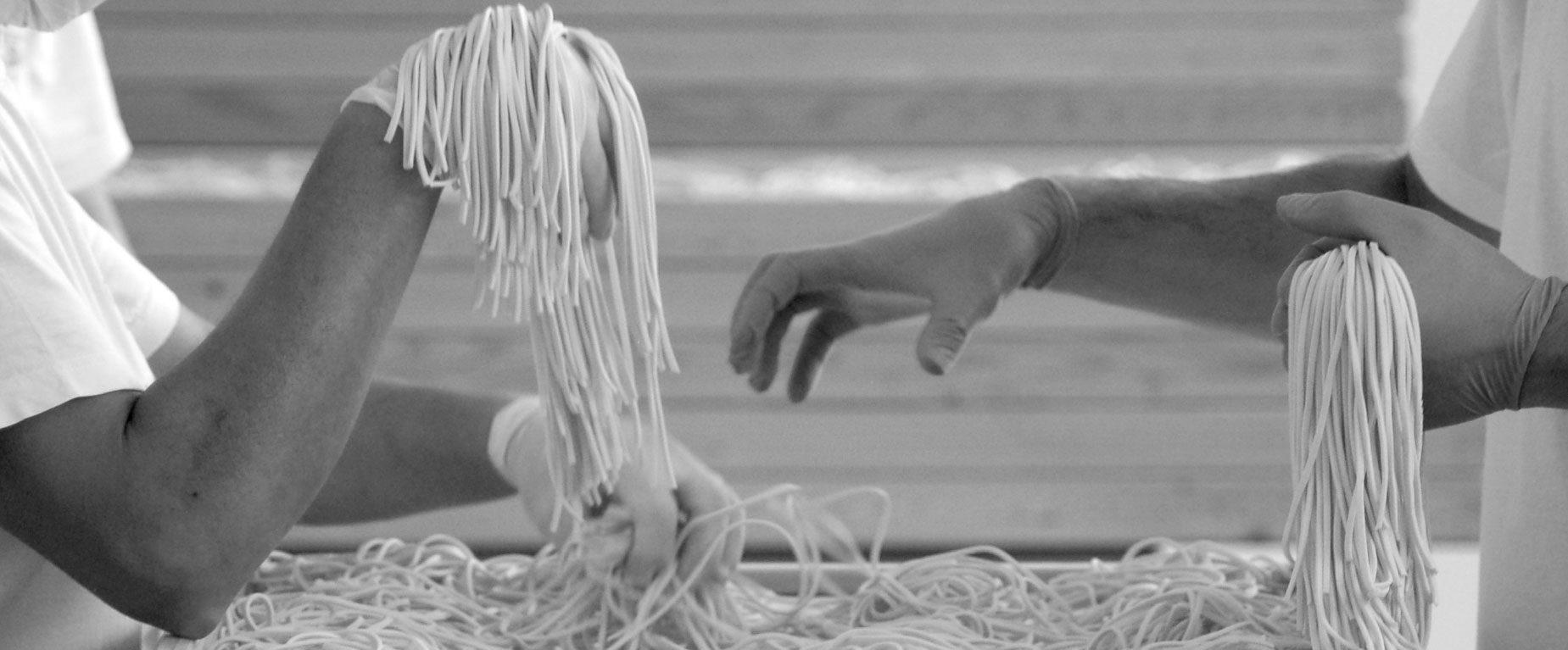Lavorazione pasta - Geometry of pasta
